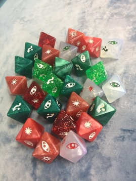 My collection of prize dice
