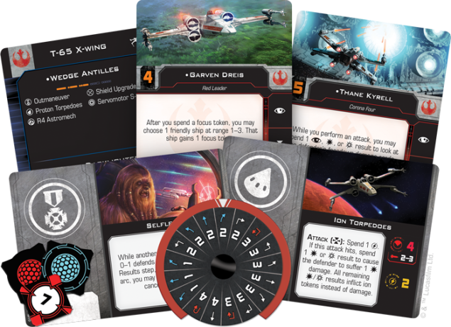 X-wing spread